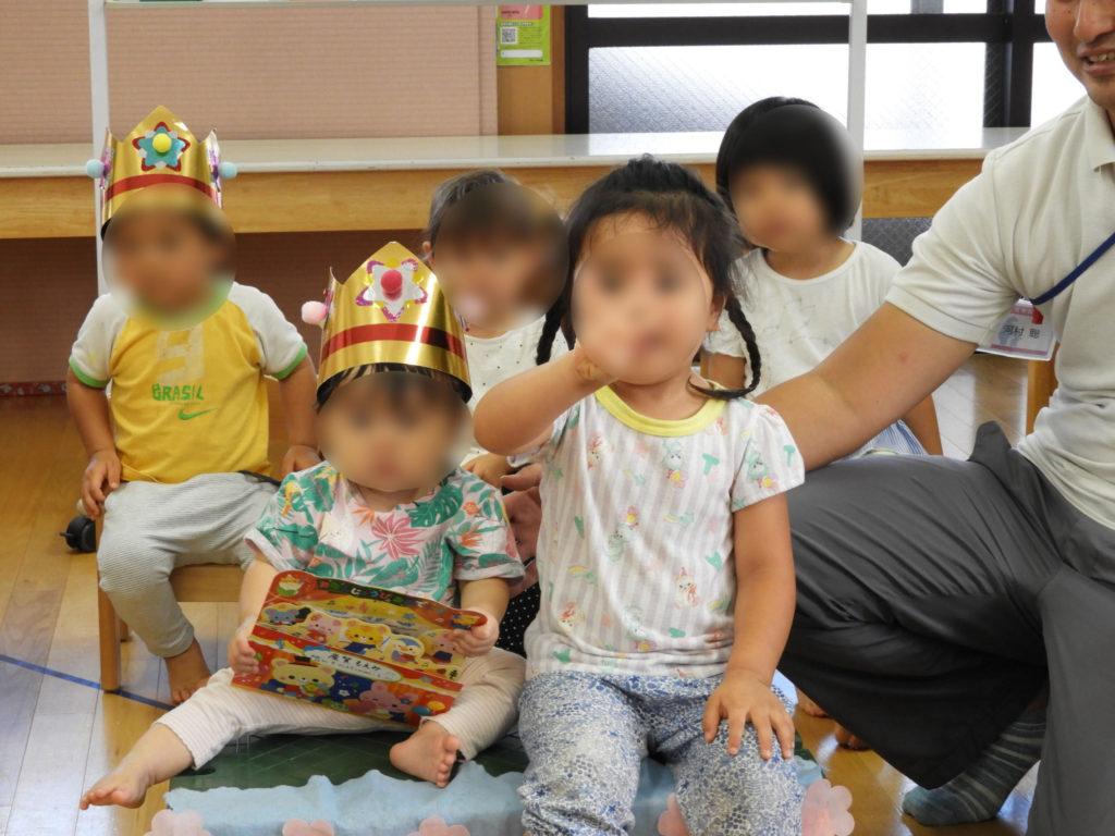 こぐま保育園 9月誕生日会