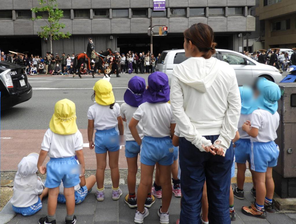 こぐま保育園 時代祭