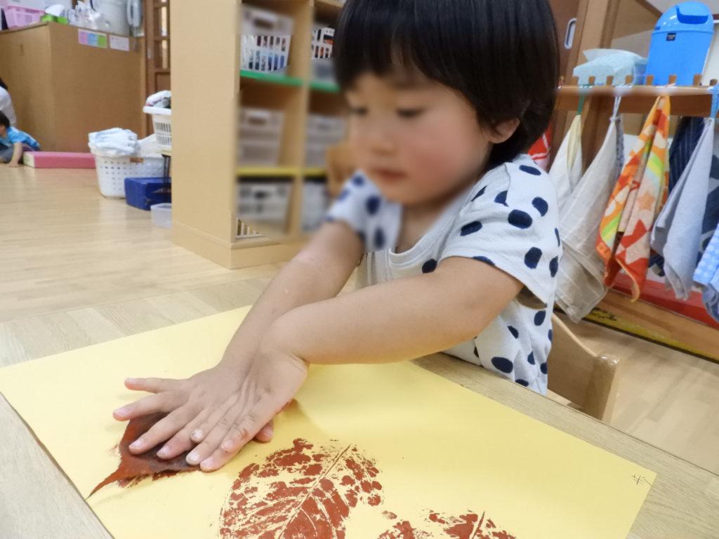 こぐま保育園 つぼみ組 製作遊び