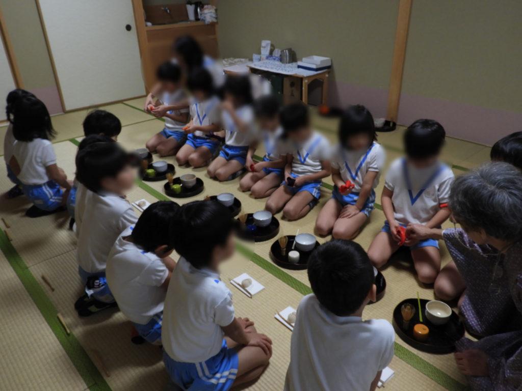 こぐま保育園 お茶教室9