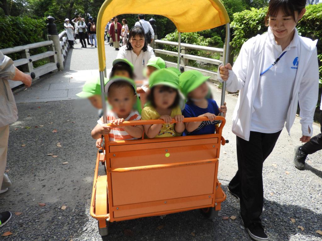 こぐま保育園 つぼみ組 葵祭
