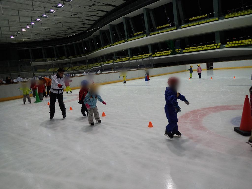 スケート体験(ひかり組)3回目
