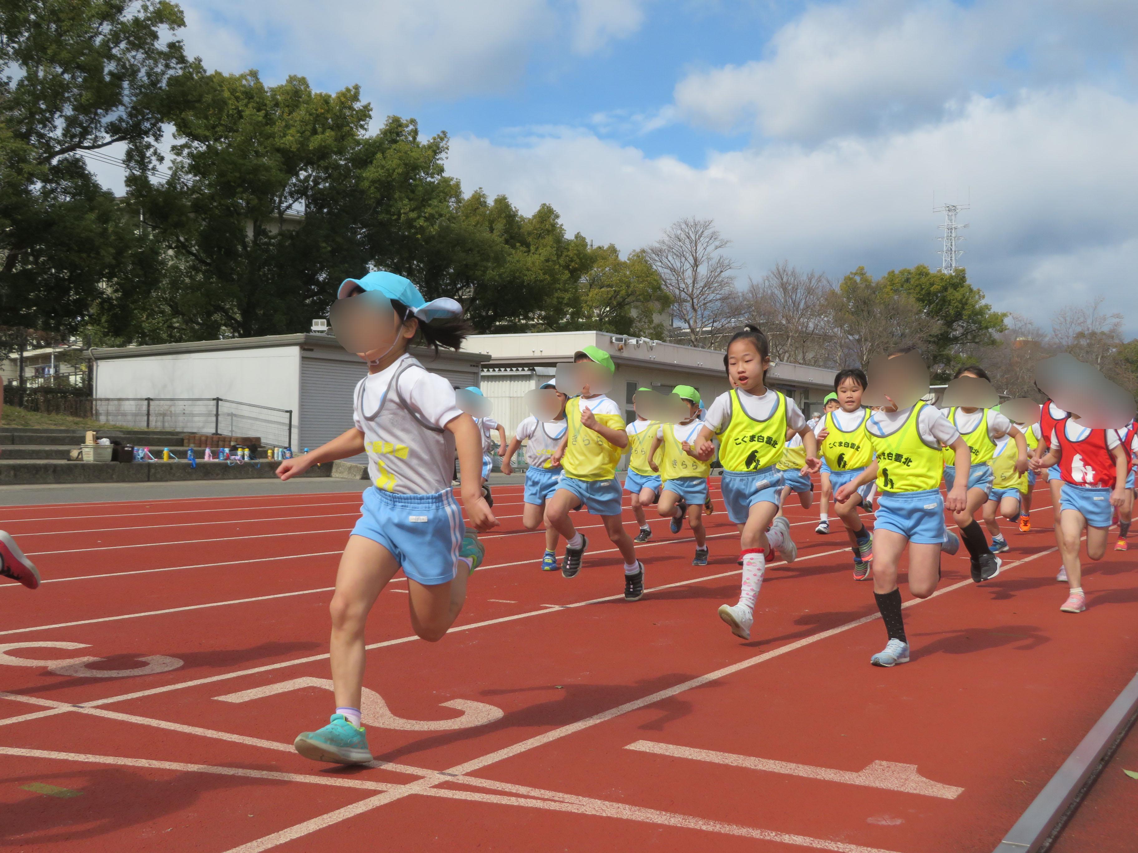 4園合同幼児マラソン大会